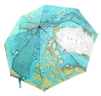 chrislz world map umbrella automatic world umbrella sun protection umbrella windproof folding map umbrella