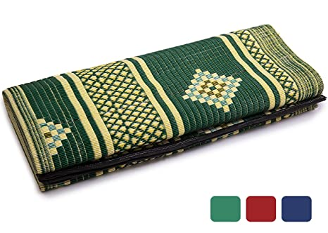 IndigoMer Outdoor Patio Rug   6.5 Feet X 4.7 Feet, Reversible Outdoor Mat