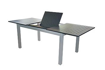 Amazon De Voll Aluminium Gartentisch 150 210 X 90 Cm Mit