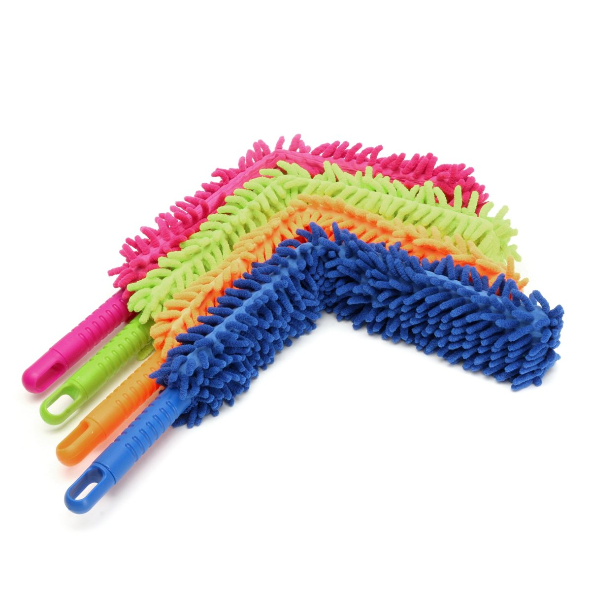 Car Cleaning Equipments - Brush Flexible Microfiber Noodle Chenille Alloy Wheel Cleaner Car Wash - Gondola Launder Skirmish Auto Moisten Sweep Cable Lave Encounter - 1PCs