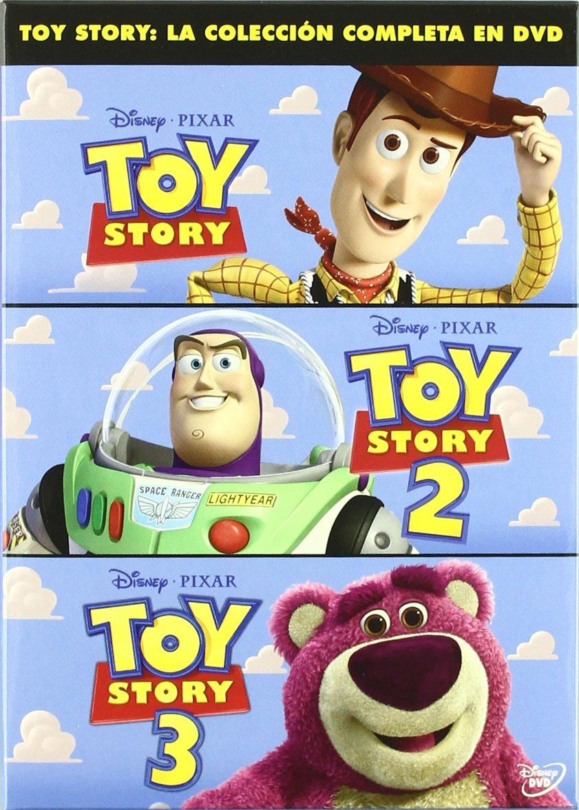 Pack Toy Story (La trilogía) [DVD]: Amazon.es: Personajes Animados ...