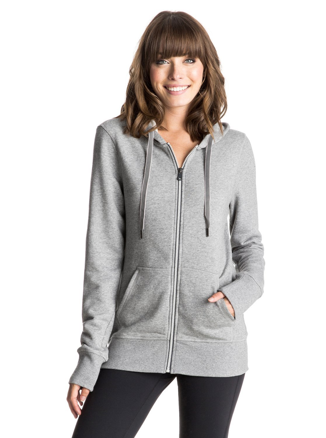 Roxy Damen Throw Down Zip Up Hoodie
