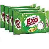 Exo Bar Detergents - 120g/125g (Weight May Varry)(Pack of 3+1)