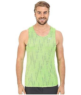 f78047cebd23 Nike Men s Dri-Fit Miler Fuse Running Singlet Tank (X-Large) Green ...