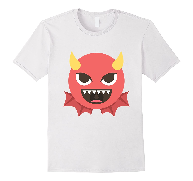 bc1ae3ae Evil Devil Emoji Emoticon Funny T Shirt Tee Demon Krampus-BN – Banazatee