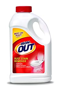 Summit Brands Iron OUT Rust Stain Remover Powder, 4 lb. 12 oz. Bottle