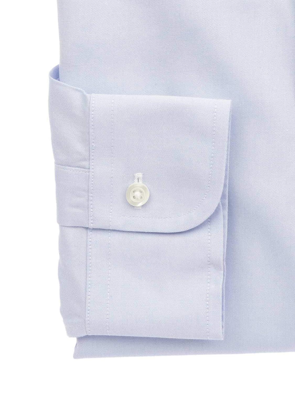 Brooks Brothers Luxury Fashion Mens 29343AZZURRO Light Blue Shirt Season Permanent