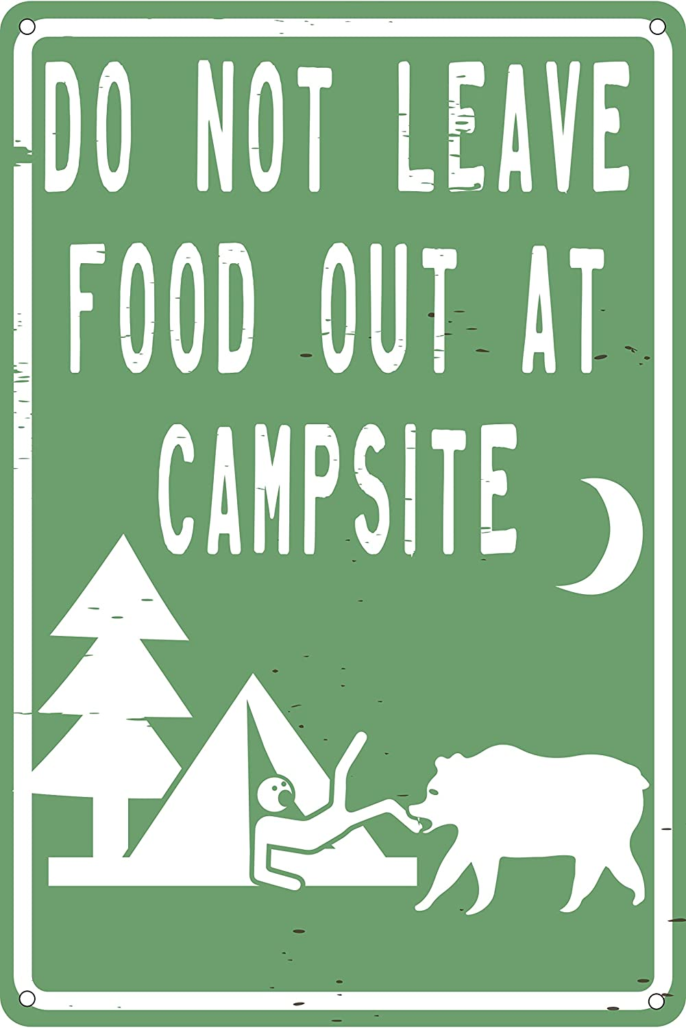 Toothsome Studios Do Not Leave Food Out at Campsite 12