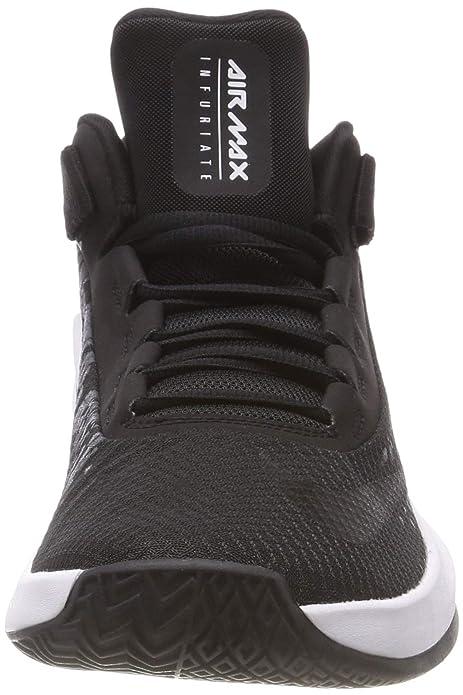 huge selection of 3352f 7be02 Amazon.com   Nike Men s Air Max Infuriate 2 Mid Basketball Shoe   Basketball