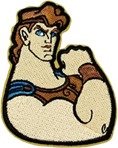 """4"""" Hercules Green Dot NEW Iron On Embroidered Patch great collectible approx"""