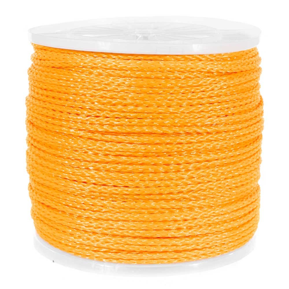 100 10 50 and 500 Foot Lengths Paracord Planet 250 Large Variety of Colors and Diameters Hollow Braid Polypropylene Rope 25