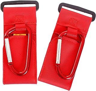 B Baosity Newborn Pushchair Stroller Hanger Buggy Pram Trolley Shopping Bag Clip Hooks - Black, as described