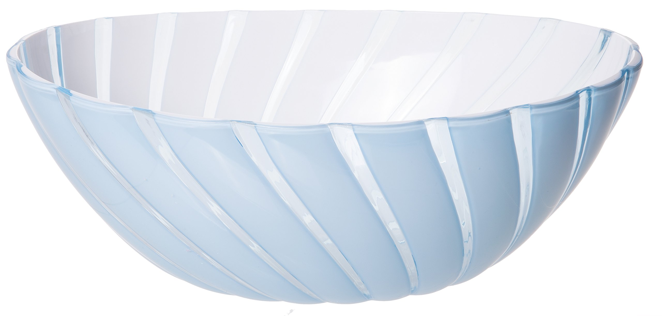 Safir Durable Plastic Salad Mixing Bowl, All Purpose Food Prep and Serving Bowl, 4.3 Lt (Random Color)