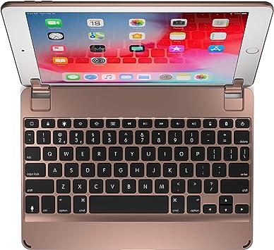 Brydge 9.7 Teclado QWERTY Bluetooth, de aluminio, para iPad Air, Air 2 y Pro de 9,7 pulgadas (disposición de teclado española no garantizada) dorado: Amazon.es: Electrónica