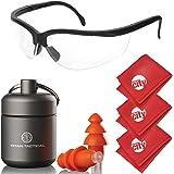 Amazon.com: Walkers Juego Ear Ext Plugs seguridad Combo Kit ...