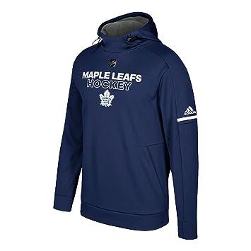 e14401c8f Toronto Maple Leafs Adidas NHL Men s 2017 Authentic Pro Hooded Sweatshirt