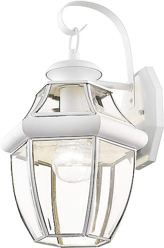 Livex Lighting 2151-03 Outdoor Lighting, 13 x 8.5 x 8.5 , White