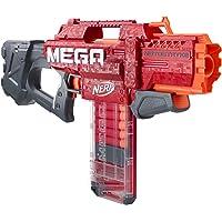 NERF Mega Motostryke Motorized 10-Dart Blaster -- Includes 10 Official Mega Darts and 10-Dart Clip -- for Kids, Teens…