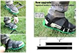 MAXTID Upgraded Lawn Aerator Shoes - with 10