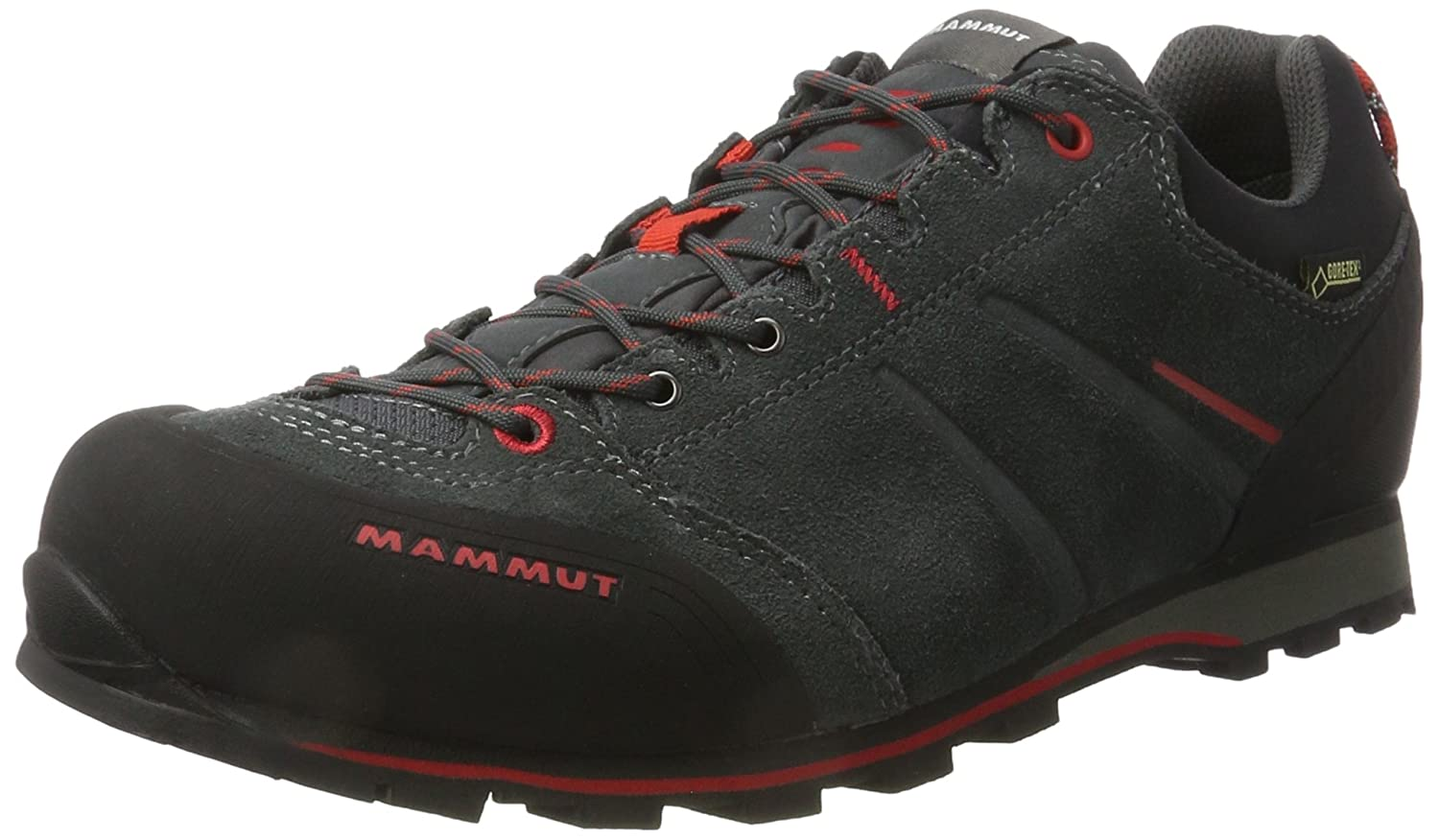 Amazon.com | Mammut Mens Wall Guide Low Approach Walking Shoes, Dark Grey, US11.5 | Hiking Shoes