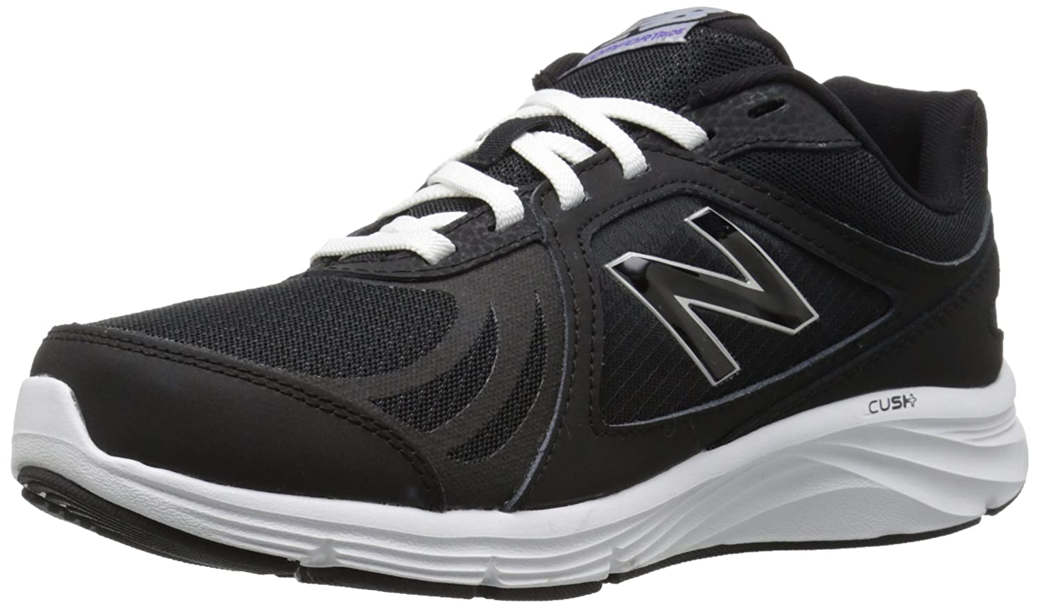 New Balance Women's WW496V3 Walking Shoe-W CUSH + Walking Shoe B012GZW3JM 9 D US|Black