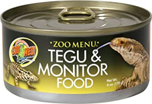 Zoo Menu Tegu And Monitor Canned Food
