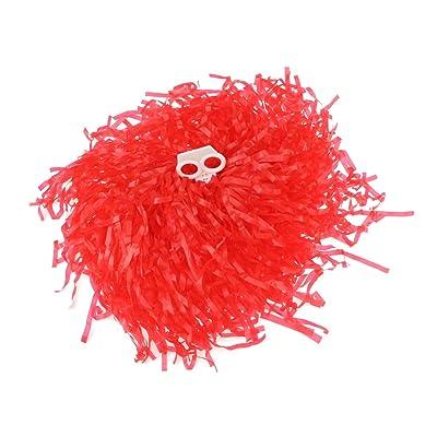 1 paire cheerleading pom poms, prix / 2 pièces, 0.05 kg / pièce, 6 couleurs au choix