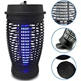 EasyGo Products Zapper - Mosquito Bug Killer Trap - Powerful 18 Watt Light Lamp - Indoor and Outdoor Use