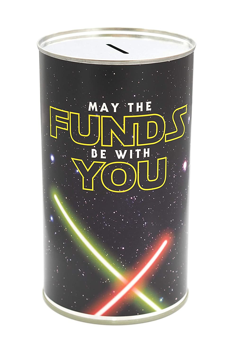 CanTastic May the Funds be with You - LARGE Savings Tin - Star Money Box Wars Wow Retail Ltd