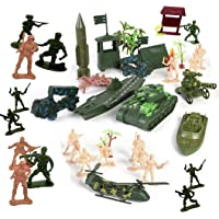 Amitasha Indian Army Military Base Camp Toys Playset for Kids (Map Included)