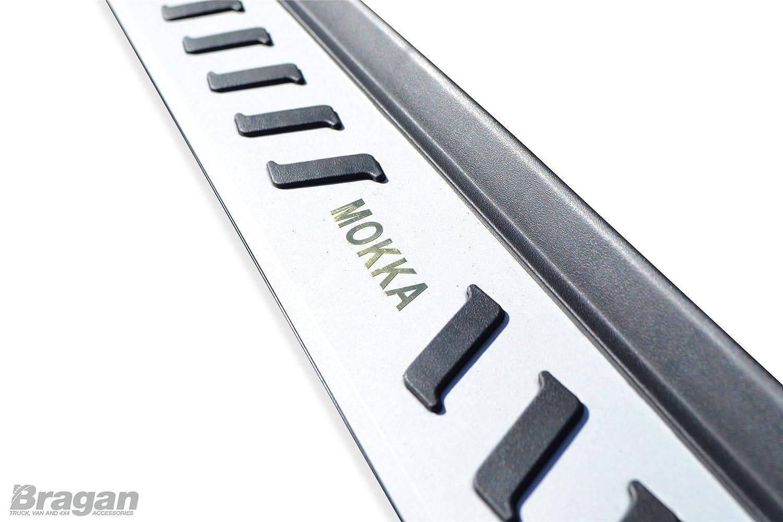 Fitting Kit Bragan BRA41332B Van SUV 4x4 Polished Aluminium Silver Black Side Running Boards Bars Steps