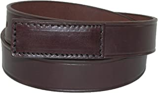 product image for Boston Leather Men's Big & Tall Leather Movers & Mechanics No Scratch Work Belt
