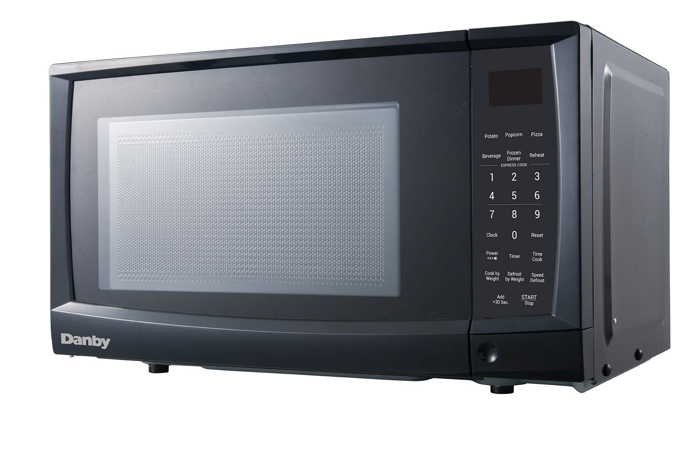 Danby DMW09A2BDB 0.9 cu. ft. Microwave Oven, Black.9 cu.ft, by Danby