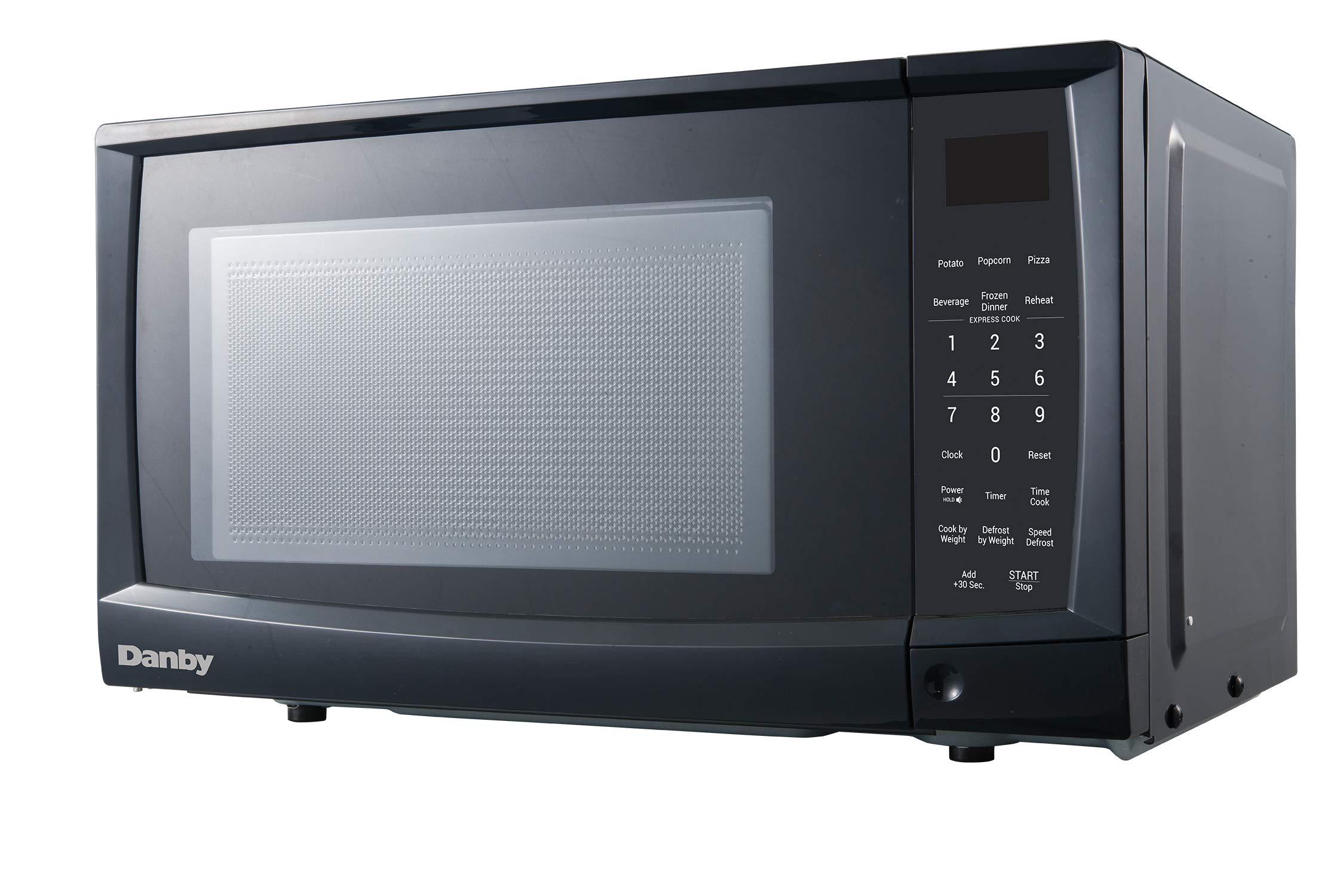 Danby DMW09A2BDB 0.9 cu. ft. Microwave Oven, Black.9 cu.ft,