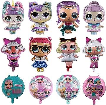 Amazon.com: Globos de fiesta LOL, paquete de 12 globos de ...