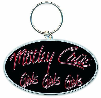 Rock de Motley Crue - Llavero de esmalte niñas: Amazon.es ...