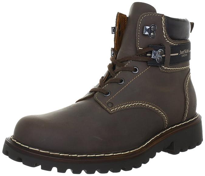 Josef Seibel Schuhfabrik Gmbh 21925 La66 340, Boots homme, Marron (340 Brasil), 45