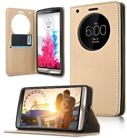 Amazon.com: LG G3 caso, caso, todo en uno. Quick Circle ...