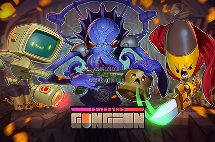 Amazon com: CGC Huge Poster - Enter the Gungeon PS4 XBOX ONE