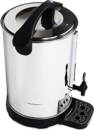 20L Litre Electric Stainless Steel Catering Water Boiler Tea Urn Commercial UK