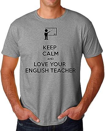 PasTomka Keep Calm and Love Your English Teacher Mens T ...