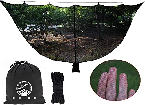 ODSE Hammock Net – 11.5 Feet Hammock Net Fits All Camping Hammocks. Compact, Lightweight. Fast Easy Setup.Essential Camping and Survival Gear