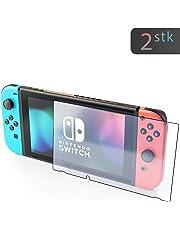 innoGadgets Panzerglas für Nintendo Switch (2X) | Extrem dünn, Ultra hart (9H) und 100% transparent | Panzerfolie, Schutzfolie – Einfaches Anbringen ohne Bläschen