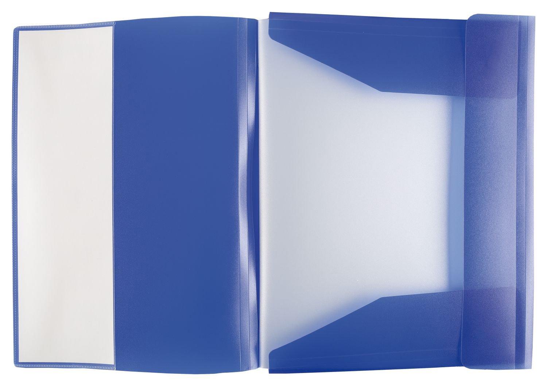 Idena 376085 color naranja Carpeta clasificadora 12 separadores
