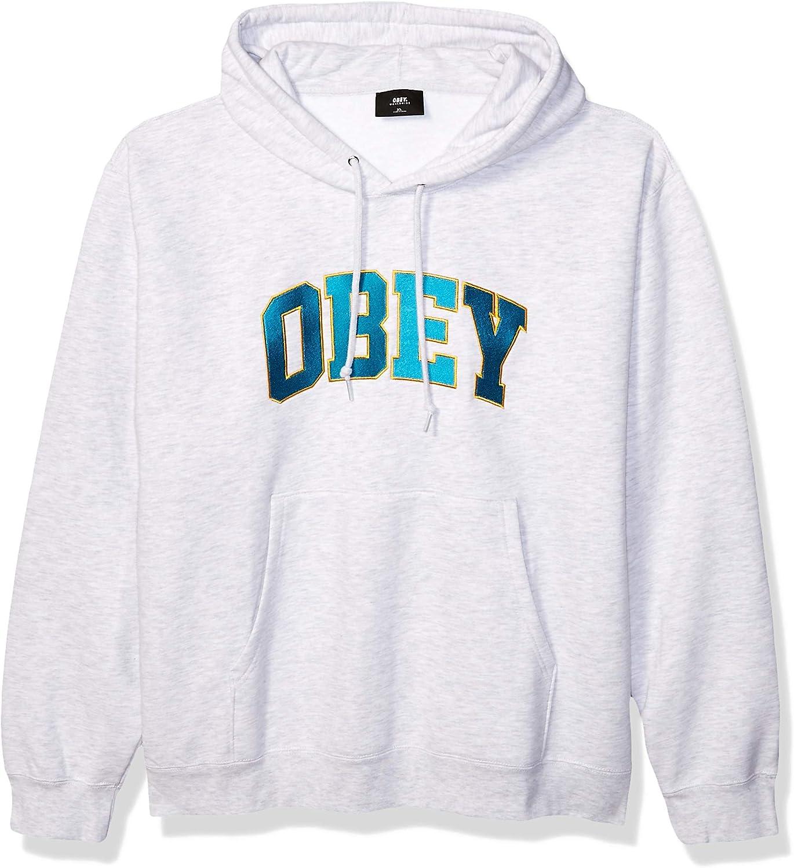 Obey felpa Sports Hoodie ash grey