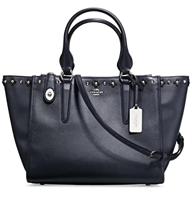 b5779bee8a70 COACH Limited ED Floral Rivet Detail Crosby Women s Bag New  Amazon.co.uk   Shoes   Bags