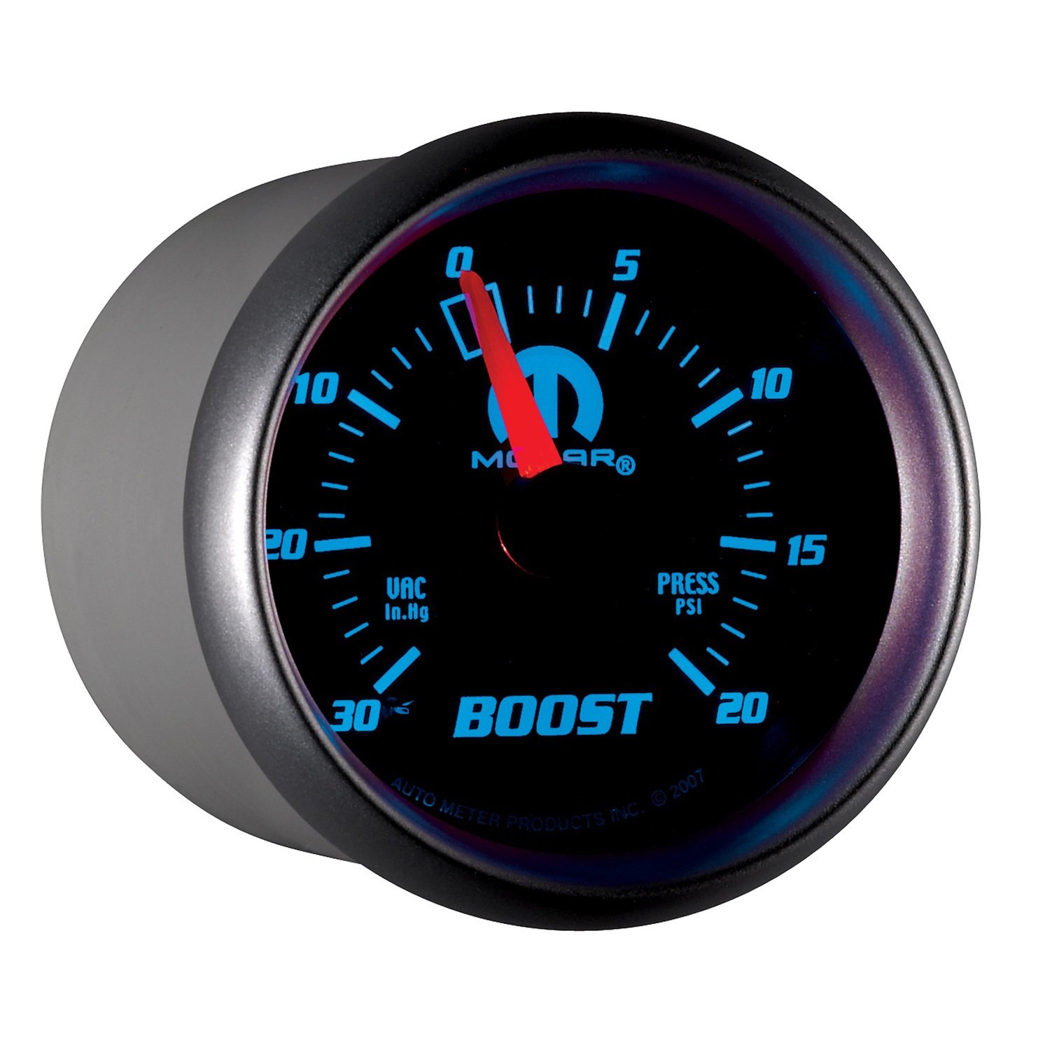 Auto Meter 880012 MOPAR Mechanical Boost/Vacuum Gauge by AUTO METER
