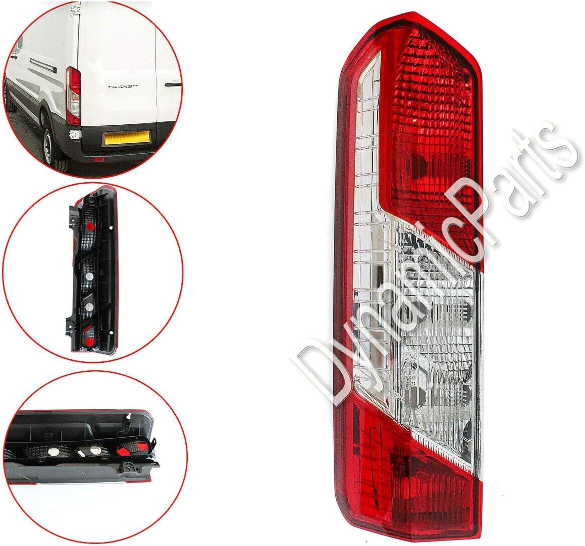 Transit Mk8 Rear Left Tail Light Lamp BK3113405AG 2014 Onwards