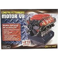 Outletdelocio. Maqueta Motor V8. Motorizado, Completamente Funcional.