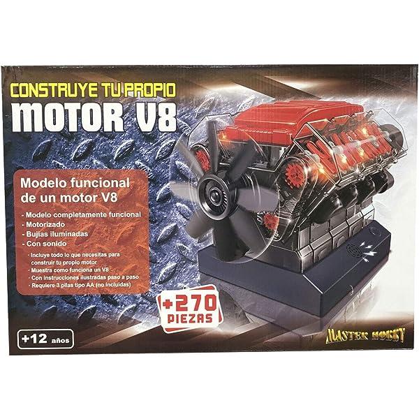 Outletdelocio. Maqueta Motor V8. Motorizado, Completamente ...